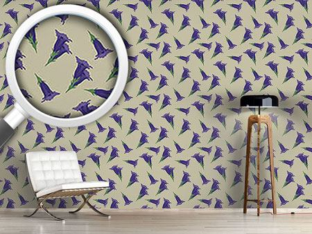 Design Wallpaper Gentian Beige