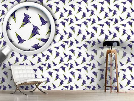 Design Wallpaper Gentian White
