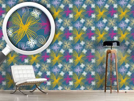 Design Wallpaper Spacy Floor