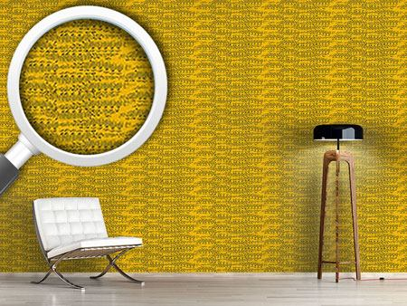 Design Wallpaper Reptilio Yellow