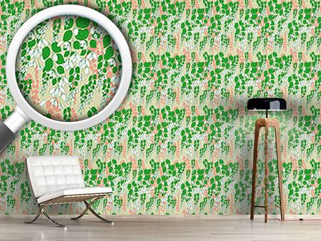 Design Wallpaper Bouganvillea Beige