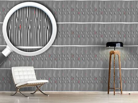 Design Wallpaper Ethno Pin Stripe