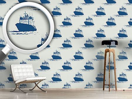 Design Wallpaper Cast Off Nautical