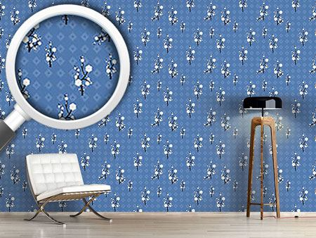 Design Wallpaper Hanami Blue