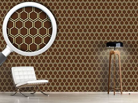 Design Wallpaper Caramel Honey