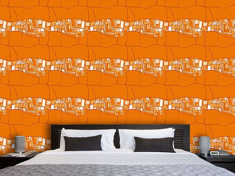 Design Wallpaper Stilismo Orange