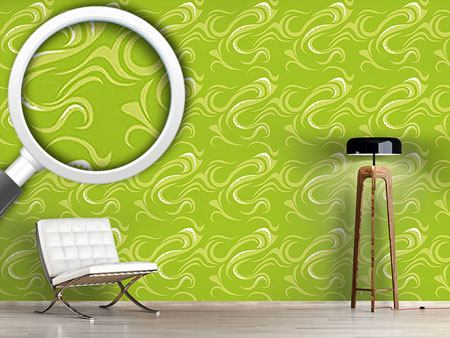 Design Wallpaper Pikea Green