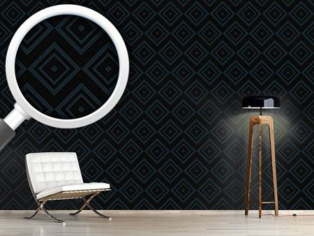 Design Wallpaper Night Squares