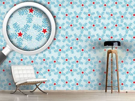 Design Wallpaper Snowflakes