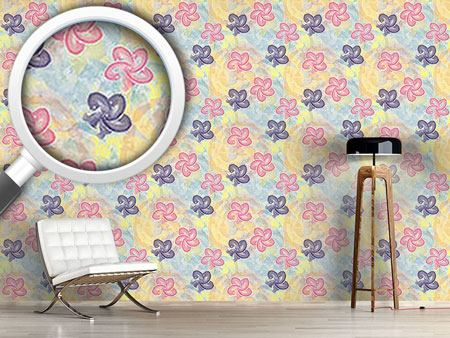 Design Wallpaper Vincents Paint Box
