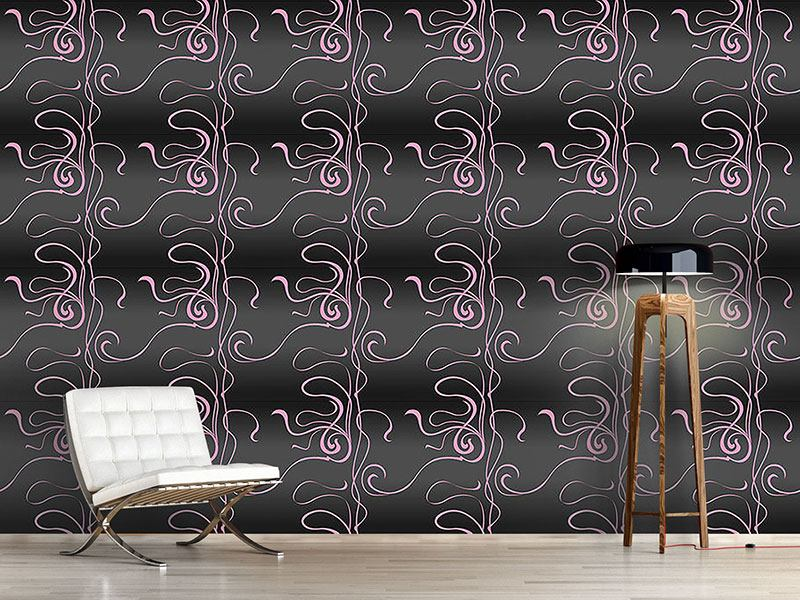 Design Wallpaper Moulin Nouveau Noir