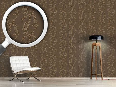 Design Wallpaper Cinderella Brown