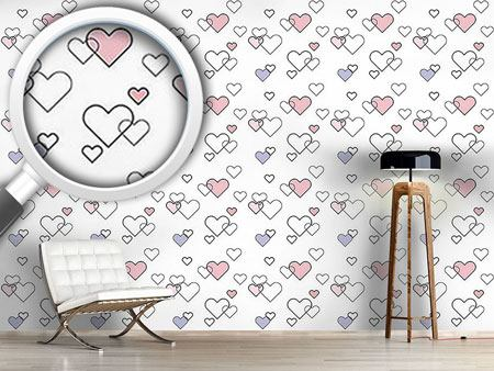 Design Wallpaper Heart Full