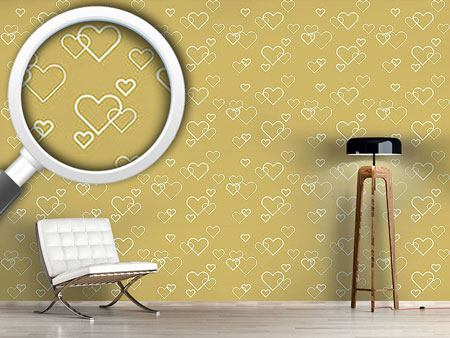 Papel tapiz de diseño Heart Of Gold