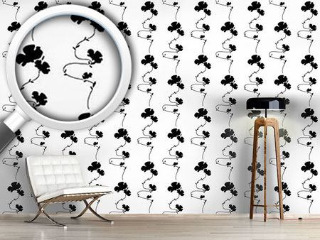 Design Wallpaper Shadow Play White