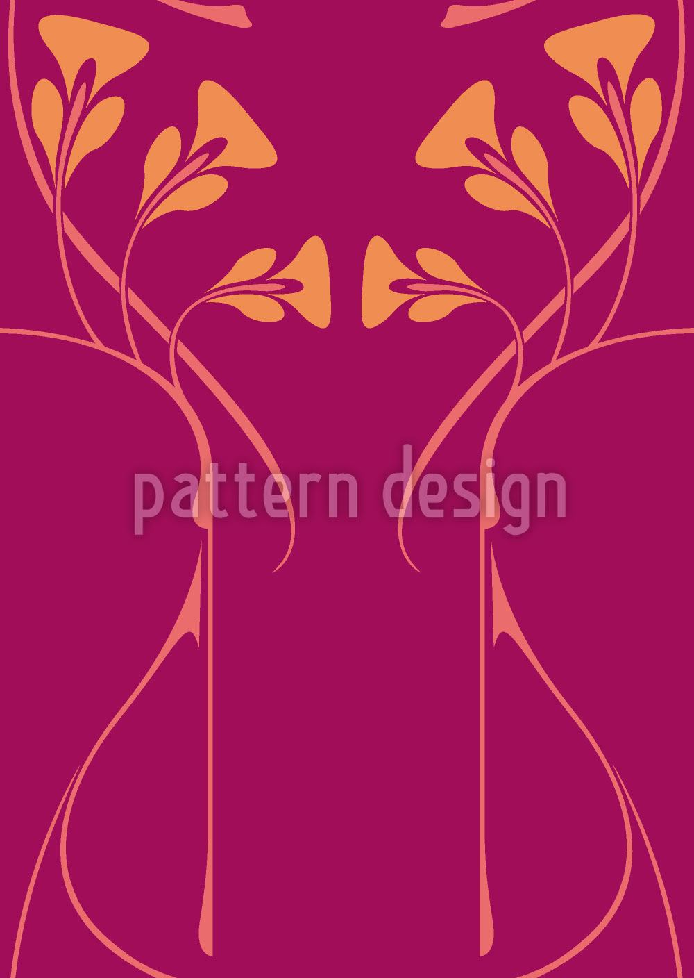 Design Wallpaper Pelleas Et Melisande Magenta