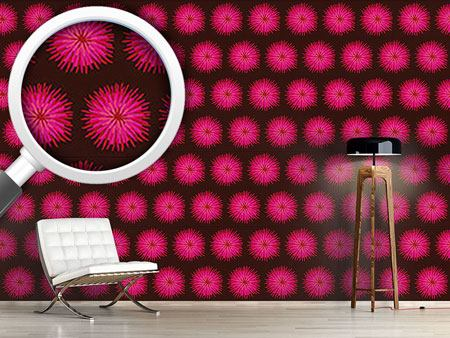 Design Wallpaper Dahlia Pink