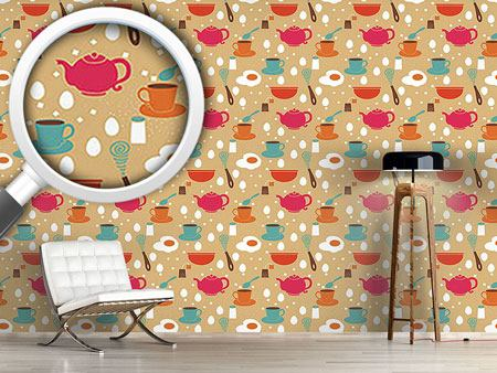 Design Wallpaper Breakfast Is Ready