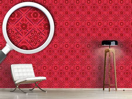 Design Wallpaper Bukhara Dream Pink