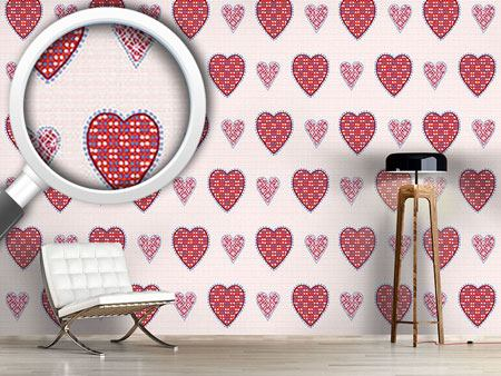 Papier peint design Heart Pictures