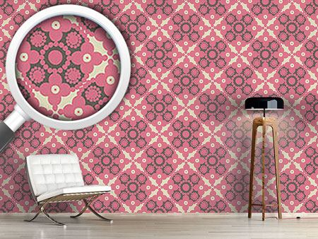 Design Wallpaper Pink Pomp