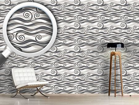 Design Wallpaper Triton Grey