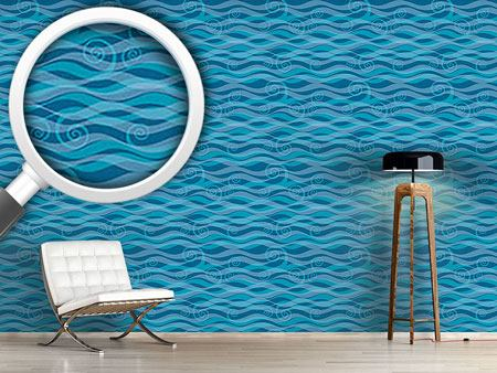 Design Wallpaper Triton Aqua