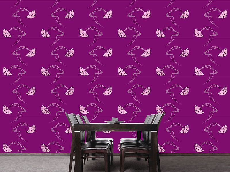Design Wallpaper Burlesque Purple