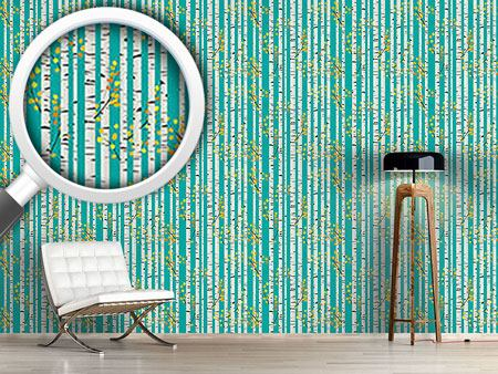 Design Wallpaper Olgas Birch Grove