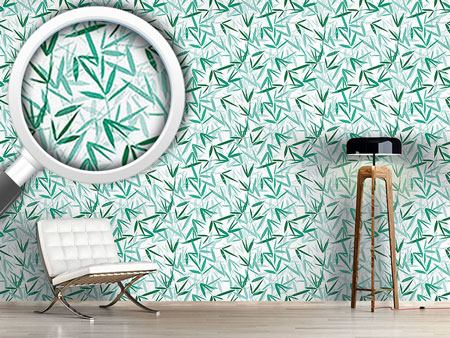 Design Wallpaper Bamboori Mint