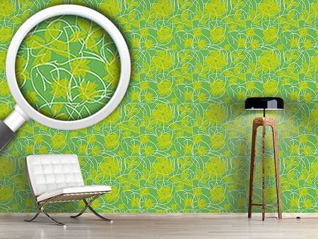 Design Wallpaper Fresh Flowers