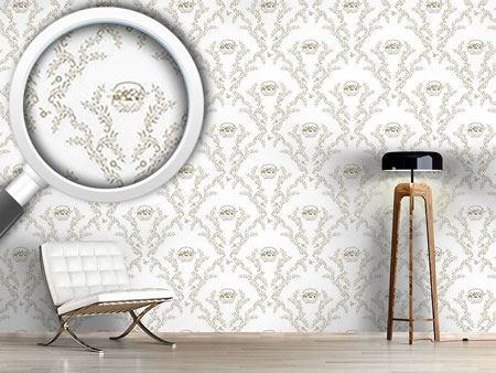 Design Wallpaper Petit Panier Brun