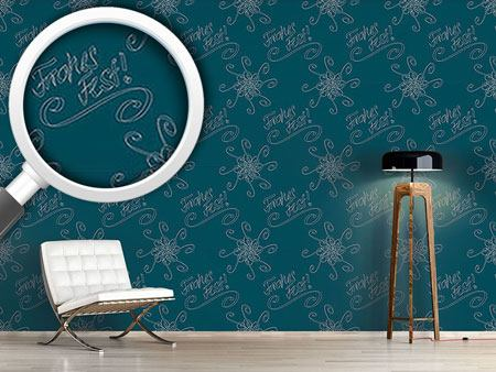 Design Wallpaper Holy Days Petrol