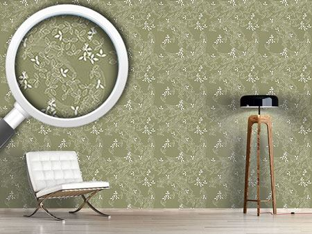 Design Wallpaper Bushclover