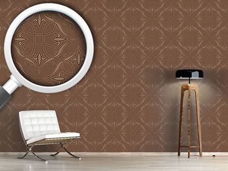Papier peint design Renaissance In Brown