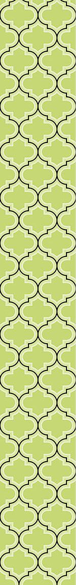 Carta da parati Retro Morocco Green