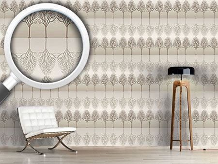 Design Wallpaper Alley Brown