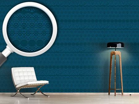 Design Wallpaper Alhambra Petrol