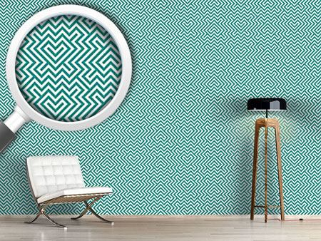 Design Wallpaper In The Center Mint