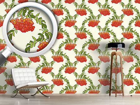 Design Wallpaper Rowan White