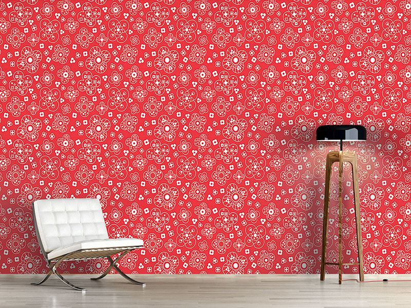 Design Wallpaper Catherine Red