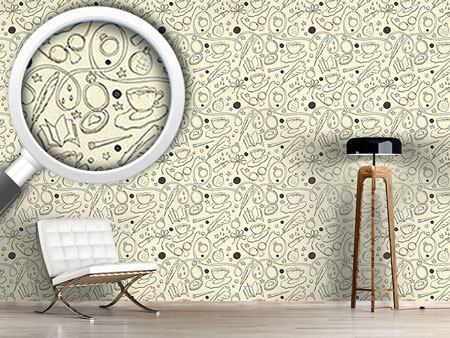 Design Wallpaper Sketchboard Retro