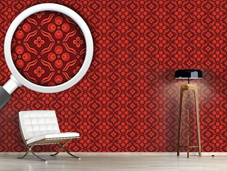 Design Wallpaper Ottomani Red