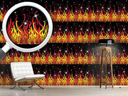 Design Wallpaper On Fire