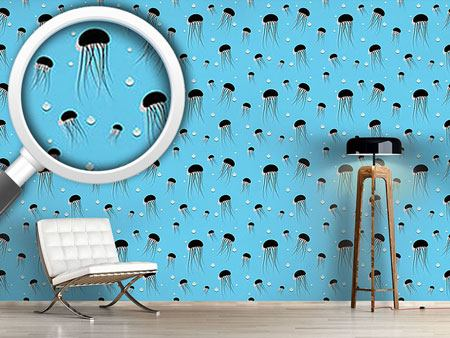 Design Wallpaper Jellyfish