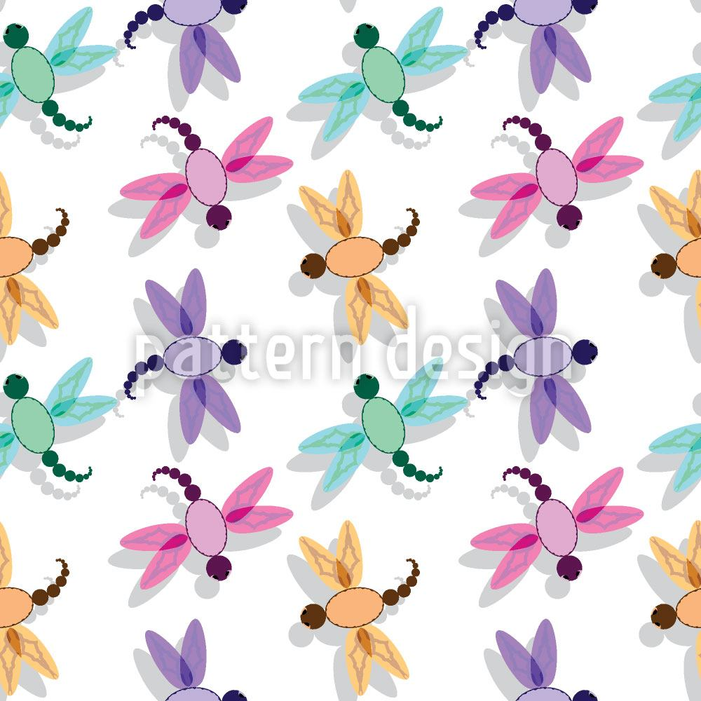 Design Wallpaper Flight Of The Dragonfly