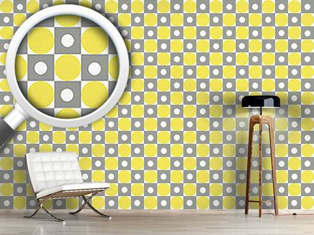 Papier peint design Lemonade