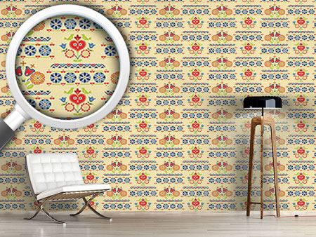 Design Wallpaper Gipsy Heart At Day