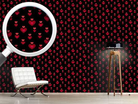 Design Wallpaper Heart Beat