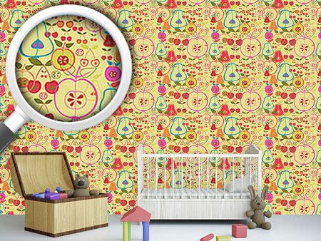 Design Wallpaper Fruity Romance
